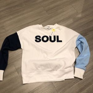 Soul by SoulCycle sweater. NWT